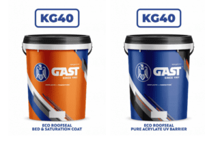 eco roofseal KG40 buckets