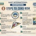 8 Steps to Zero Risk Waterproofing