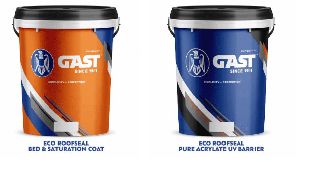 eco-roofseal KG50 buckets