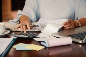 woman-paying-utility-bill